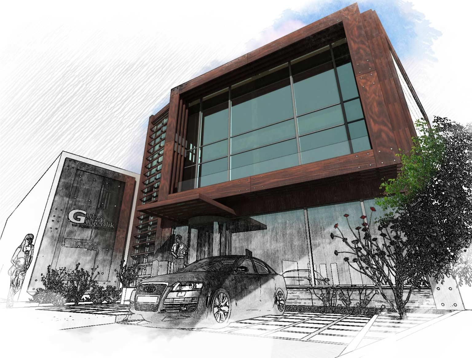 GUT's Güvenlik Ofis Binası