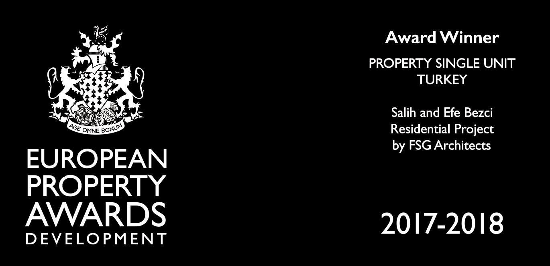 European Property Awards Development 2017-2018 | Award Winner