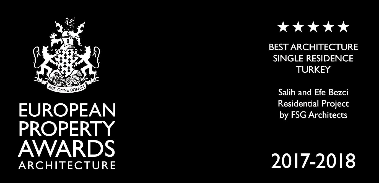 European Property Awards Architecture 2017-2018 | *****