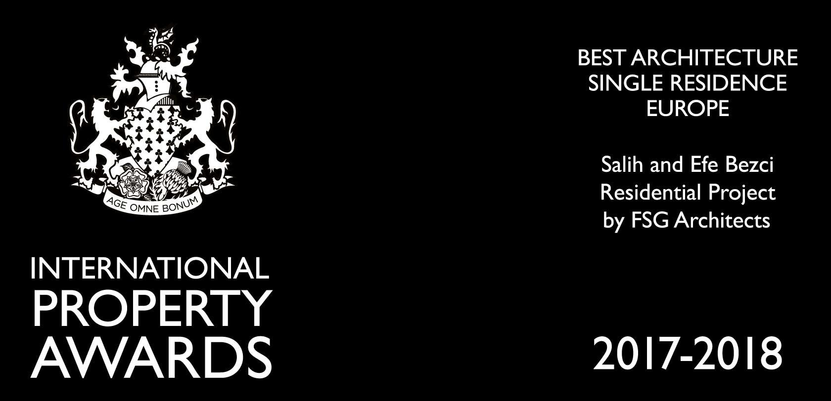 International Property Awards 2017-2018